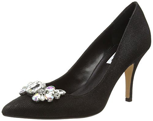 Dune Bella, Women's Court Shoes, Black