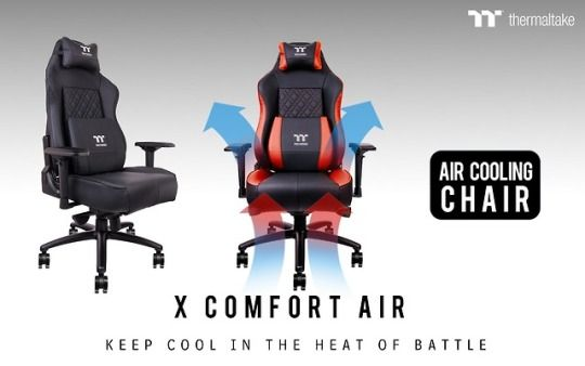 The X Comfort Air Professional Gaming Chair Comes With A State Of