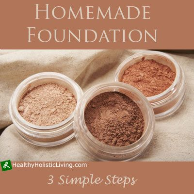 Homemade Foundation--not sure I will do this, but I can't believe what is in foundation and what it causes, including CANCER!!