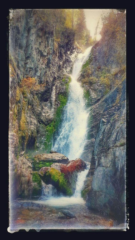 Водопад, Алтай
