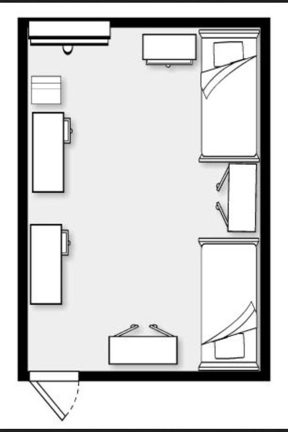 dorm layout