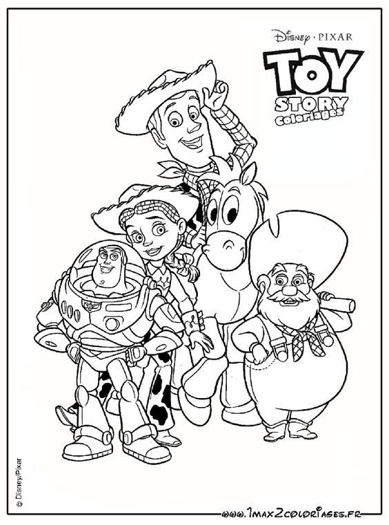 Stinky pete toy story coloring pages disney - Coloriage pixar ...