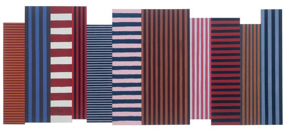 Sean Scully: Backs and Fronts, 1981