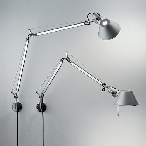 Artemide Tolomeo Mini Parete Wall Lamp Aluminium Wall Lamp Led Wall Lamp Tolomeo Lamp