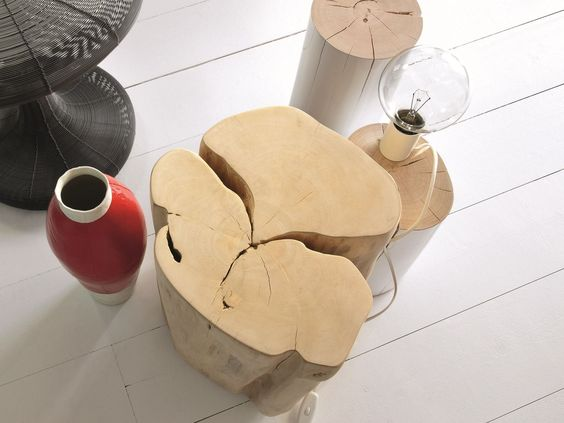 WOODEN POUF / COFFEE TABLE BRICK XL BRICK COLLECTION BY GERVASONI | DESIGN PAOLA NAVONE