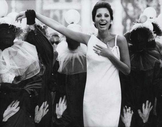 Vogue 365; Carmen Mayrink Veiga at Carnival in Rio de Janeiro c.1965; photo Henry Clarke