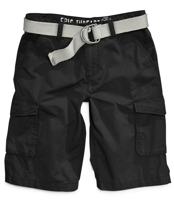Epic Threads Boys' Belted Cargo Shorts