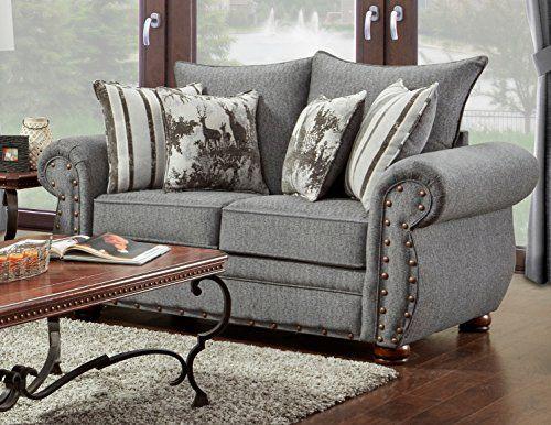 American Furniture Classics B 3102 Ersl Elk River Loveseat Love Seat Furniture American Furniture