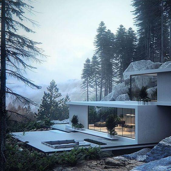 Pinewood House von Roman Kupriyan ,   #house #kupriyan #pinewood #roman