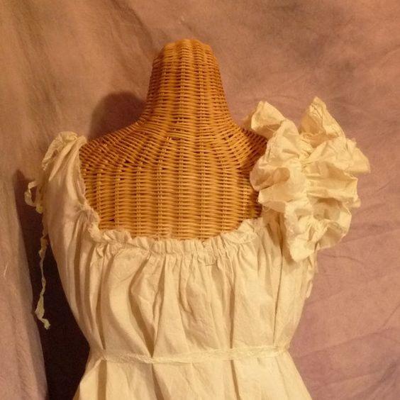 Ruffled Bridesmaid Dress Patisserie Dress by SavoyFaireBridal, $80.00