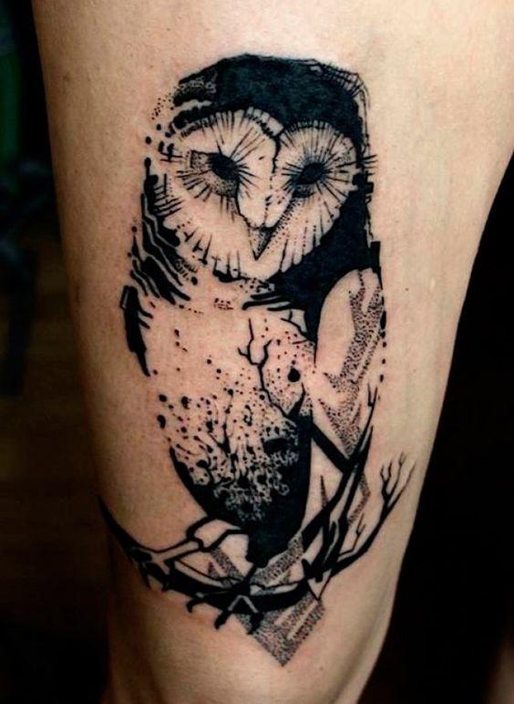 Tatuagem de Coruja | Inspire-se!