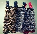 Animal Print Petti Rompers with Straps (More Colors!)