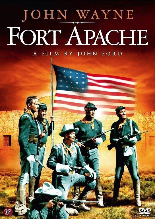 FORT APACHE (1948) - John Wayne - Henry Fonda - Directed by John Ford - DVD cover art.