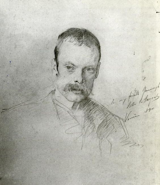 Gordon Greenough 1880. John Singer Sargent
