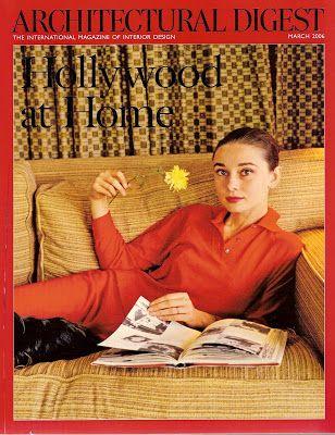Picture of Elegance Blog: Audrey Hepburn at Home