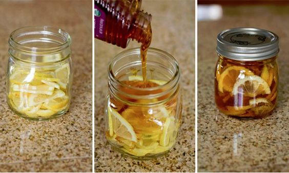 Cómo preparar un té especial para dolor de garganta. Ingredientes:Recipiente de vidrio con tapa 1 Limón en rodajas Miel de abeja pura Jengibre en rodajas Agua hirviendoInstrucciones: En un recipiente de vidrio, combinar las rodajas de limón, miel de abejas y el jengibre en rodajas. Cerrar el recipiente y colocarlo en la nevera, (se forma …