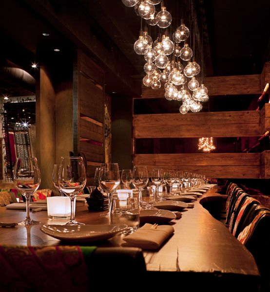 Exotic restaurant interior designs latest house designs Restaurant lighting ideas