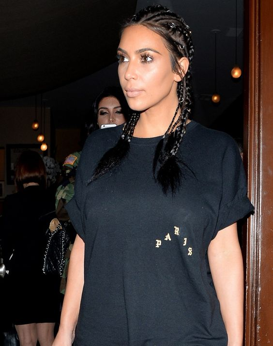 Hairstylist Chris Appleton gives us all the details on Kim Kardashian's pierced cornrows - click through for his tips: