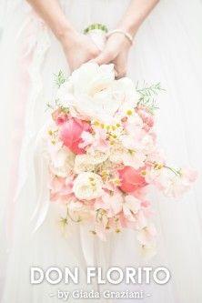 Marcia en Dirk zijn opnieuw getrouwd, het was een emotionele dag. Alle bloemen en decoratie is uitgevoerd in Vintage pastels. Dit alles heeft tot een prachtig resultaat geleid. door DON FLORITO