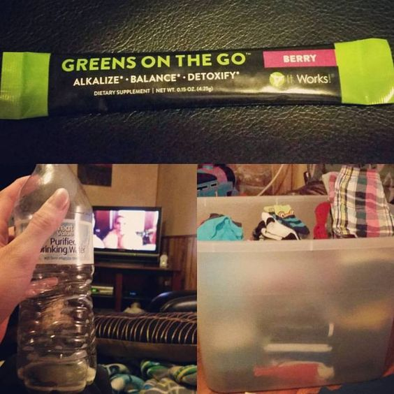 """Thank goodness I had my Greens earlier! Definitely needed the boost to power through folding laundry!!! And of course catching up on the premier of #screamqueens ! Text """"Greens"""" to 419-806-9992 to get my discount! #energy #delicous #mommylife #mommydutyneverends #finallynocartoons #quiettime #toddlermom"""