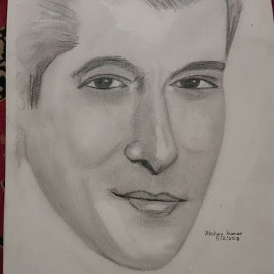 Salman khan pencil drawing by artist akshay kumar