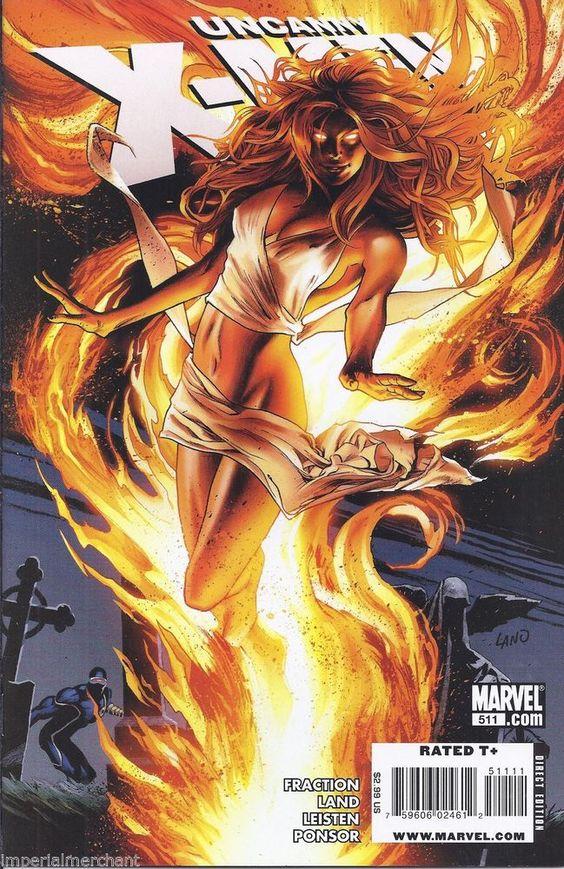 Dark Phoenix in Uncanny X-Men comic issue 511