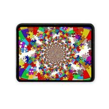 Autism Puzzle Design Hitch Cover
