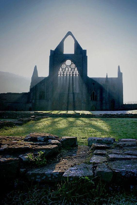 mythopoetical:    Tintern, Monmouthshire, Wales