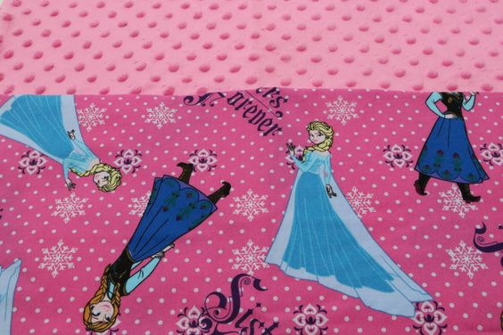Hot Pink Frozen Elsa and Anna KinderMat Nap Mat Cot Cover Daydreamer by YarnkeeDoodle on Etsy