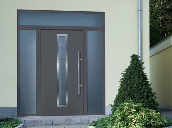 Porte entree hormann id es de porte d 39 entr e pinterest - Hormann porte d entree ...