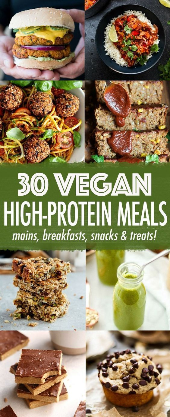 30 High Protein Vegan Meals High Protein Vegan Recipes Vegan Protein Recipes High Protein Vegan