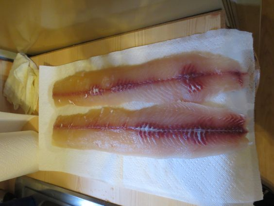 Delicious muskie fillets