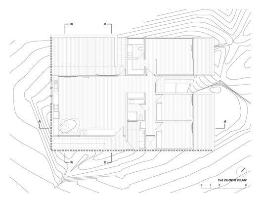 Mirador House Punta De Gallo,First Floor Plan