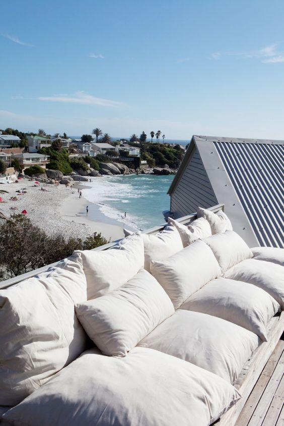 overlooking Clifton Beach, Cape Town. DREAM