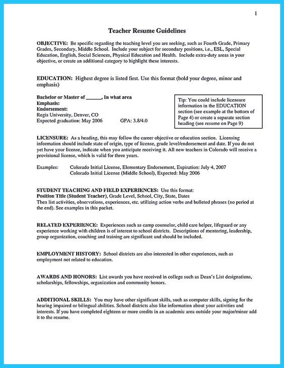 Resume Teaching Objective Cosmetology Resume Objective Statement Example  Httpwww .