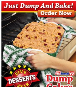 Dump Cakes Cookbook - great for food lovers!