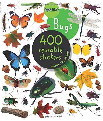 Eyelike Stickers: Bugs by Workman Publishing:
