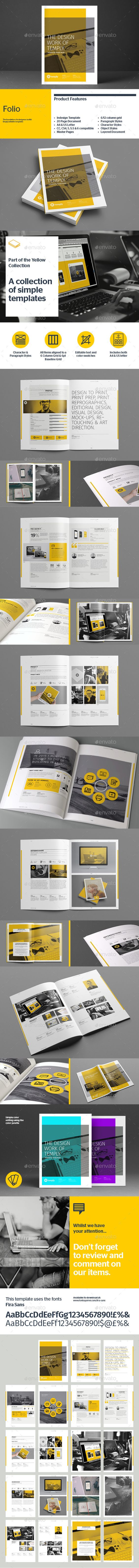 Folio Template  —  InDesign Template • Only available here! → https://graphicriver.net/item/folio-template/8897328?ref=pxcr