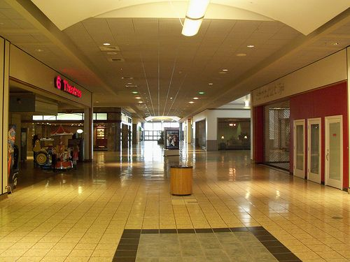 Westminster Mall Colorado, old memories, by the indoor