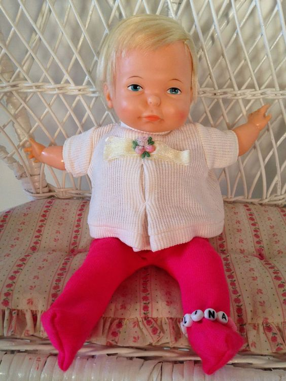 Vintage Antique 1960 S Ideal Newborn Thumbelina Baby Doll