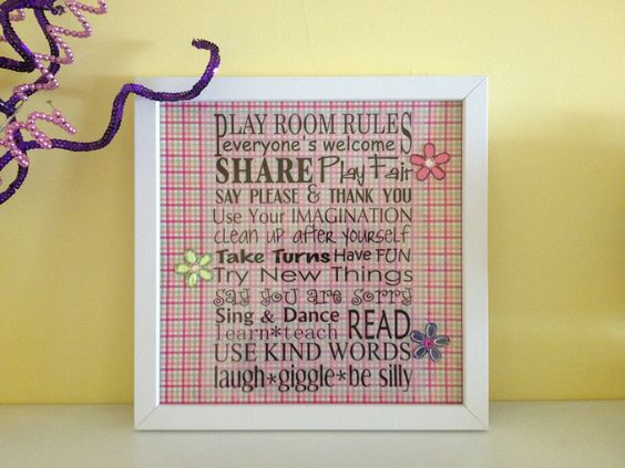 Made for my daughters playroom from a free printable online