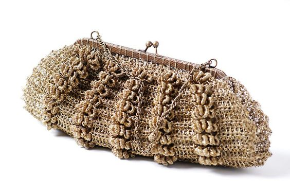 cartera: Craft, Portfolios, Crochet Knitting Bag