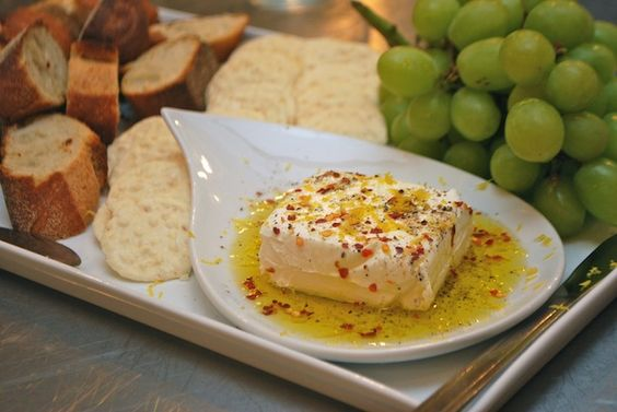Marinated Cream Cheese - easy, delicious appetizer.