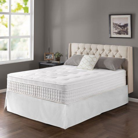 Zinus Night Therapy Icoil 13 Euro Boxtop Spring Queen Mattress