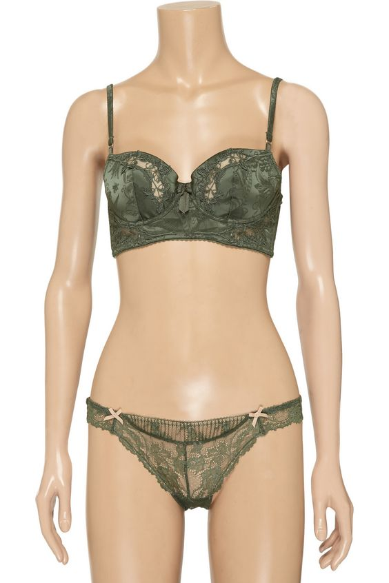 Elle Macpherson Intimates Exotic Garden contour bra - 50% Off Now at THE OUTNET