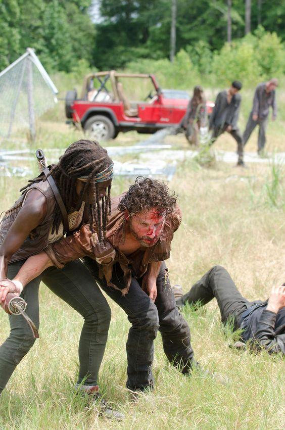 Michonne &. Rick ~ Season 4
