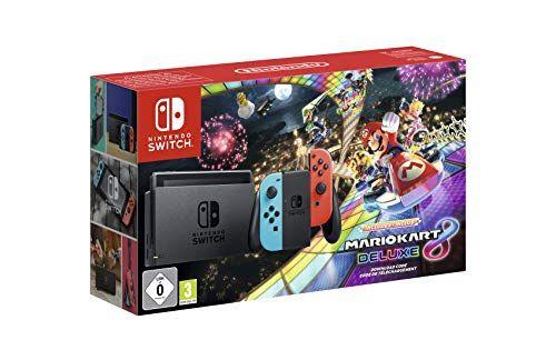 Nintendo Switch Consola Mario Kart 8 Deluxe Bundle Código Descarga Edición Limitada Nintendo Consola Nintendo Switch Consola Nintendo