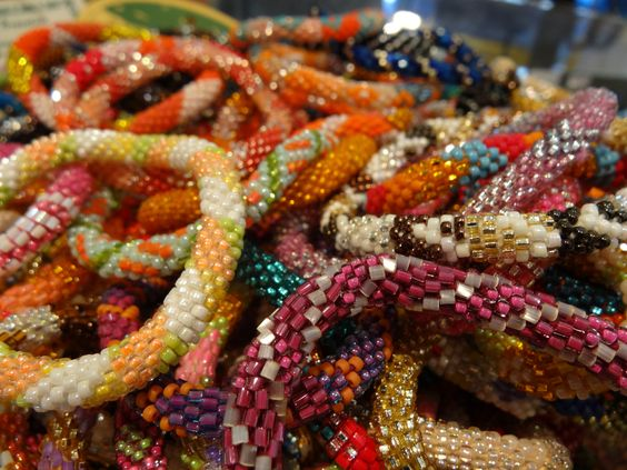 Roll On Bracelets from Nepal - fair trade. Sold @ #LFMustardSeed