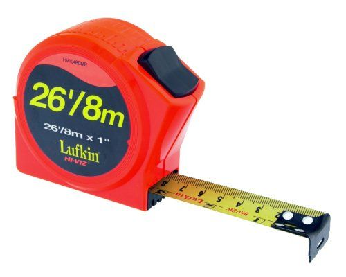 Apex Tool Group Hv1048cme Lufkin Hi Viz Measuring Tape 1 Inch By 26 Inch Review Tape Measure Tape Lufkin