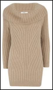 I'm wearing a dress like this right now. So comfortable, cozy AND super stylish.